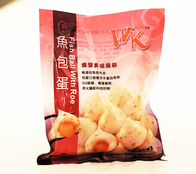 Wk fish ball with roe quick bites products for Fish ball with roe